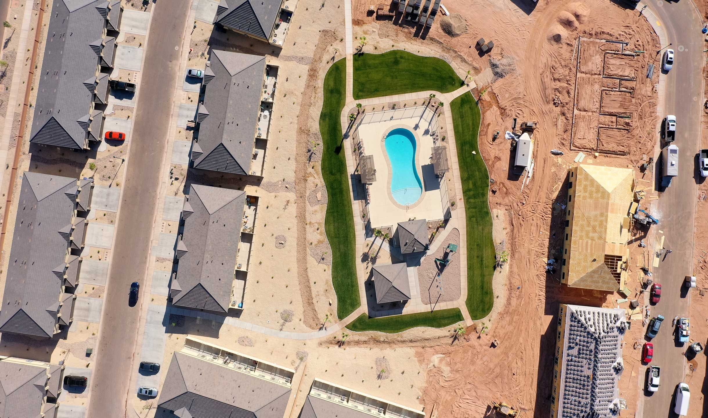 Blackhawk Townhomes Pool Area