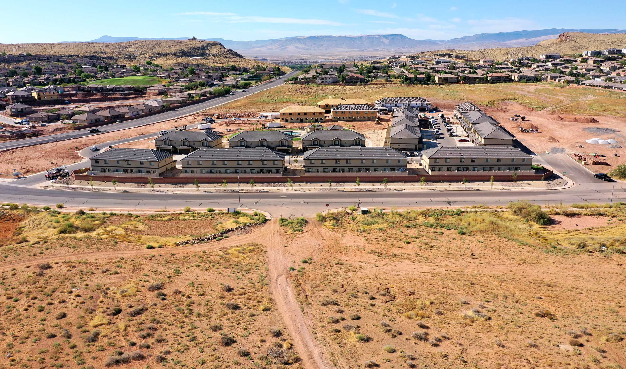Blackhawk townhomes St. George Utah